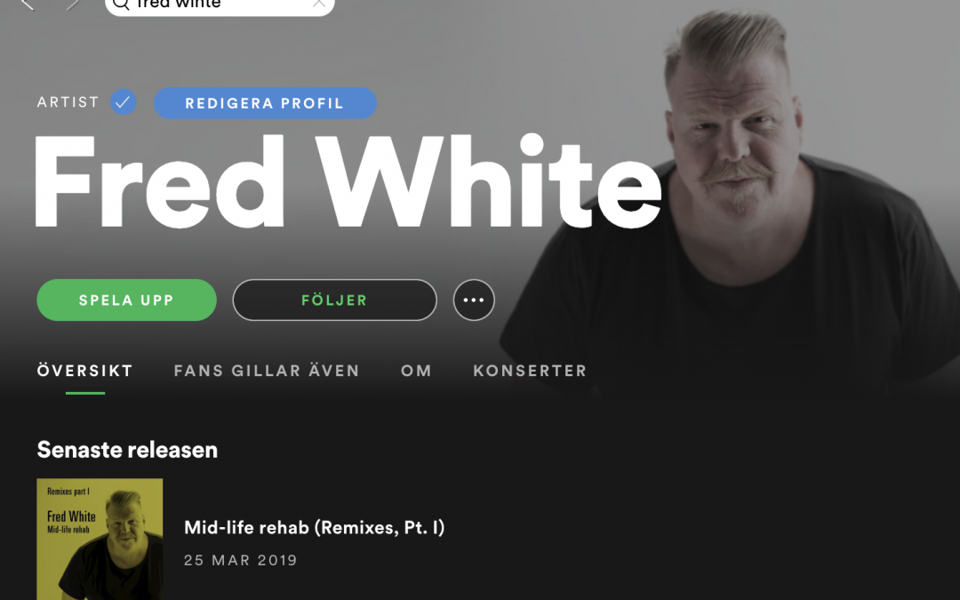 Fred White @ Spotify